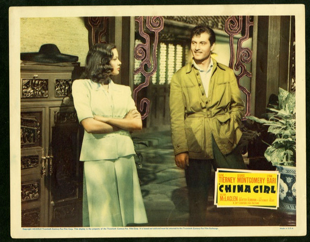 CHINA GIRL (1942) 14991 20th Century Fox Original Scene Lobby Card   (11x14)  Fine Condition
