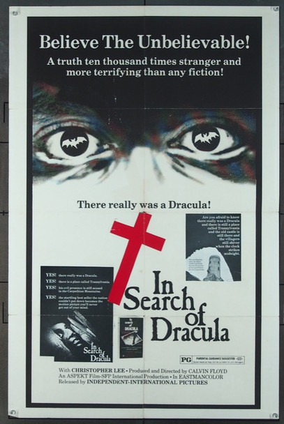 VEM VAR DRACULA? (1975) 4764 Original Independent-International Pictures One Sheet Poster (27x41).  Folded.  Fine Condition.