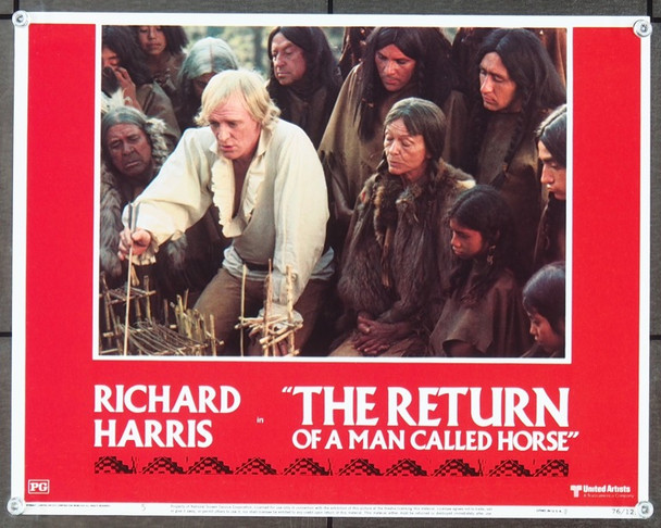 RETURN OF A MAN CALLED HORSE, THE (1976) 25676 Original United Artists Scene Lobby Card (11x14).  Very Fine Condition.
