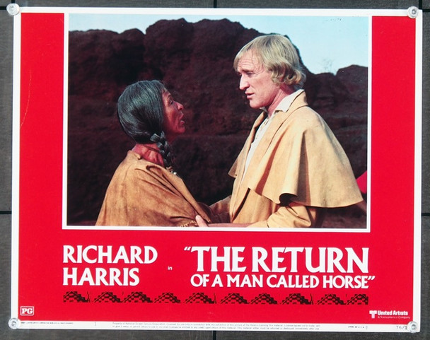 RETURN OF A MAN CALLED HORSE, THE (1976) 25675 United Artists Original Scene Lobby Card (11x14).  Very Fine Condition.
