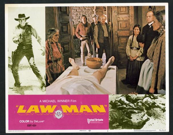 LAWMAN (1971) 25662 United Artists Original Scene Lobby Card (11x14).  Very Fine Condition.