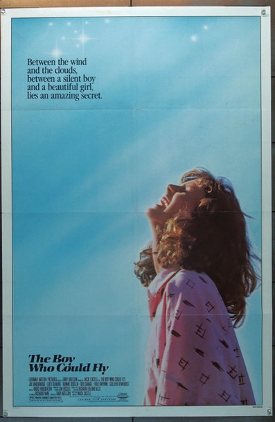 BOY WHO COULD FLY, THE (1986) 25795 Lorimar Original One Sheet Poster (27x41) Folded  Fine Plus Condition