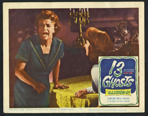 13 GHOSTS (1960) 25811 Columbia Pictures Scene Lobby Card  11x14  Very Fine
