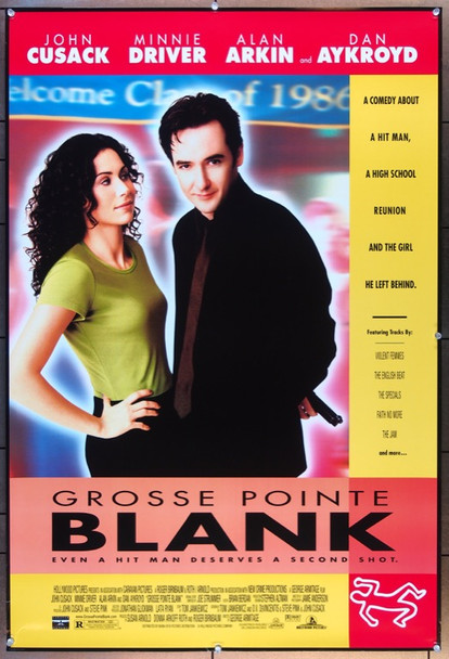 GROSSE POINTE BLANK (1997) 25831 Buena Vista Original One Sheet Poster  27x40  Rolled  Very Fine Plus