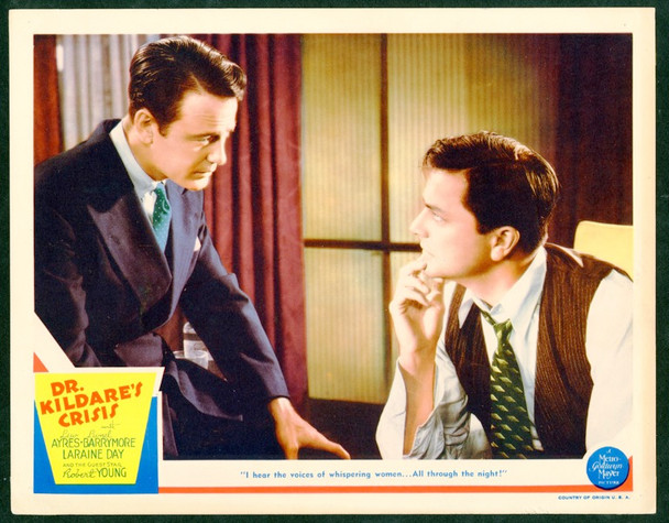 DR. KILDARE'S CRISIS (1940) 25844 MGM Original Lobby Card  11x14  Very Fine Condition