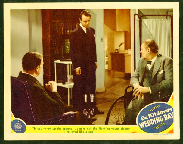 DR. KILDARE'S WEDDING DAY (1941) 25848 MGM Original Scene Lobby Card  (11x14)  Very Fine Condition