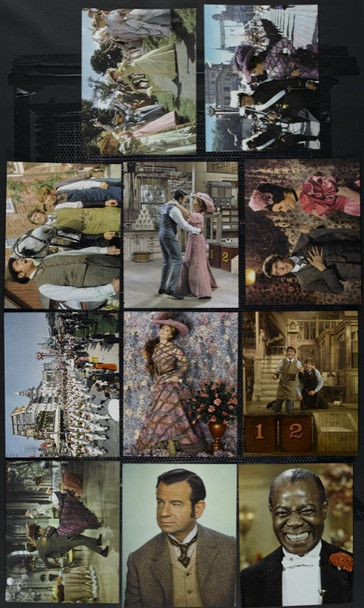 HELLO, DOLLY! (1969) 15056 Original Complete Set of 12 Italian Oversized Deluxe Color Stills (12x14).  Very Fine Plus To Near Mint.