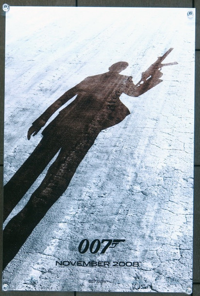 QUANTUM OF SOLACE (2008) 25925 United Artists Original MINI promotional poster  11x17