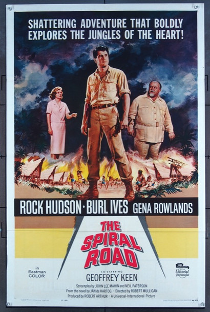 SPIRAL ROAD, THE (1962) 11220 Universal Pictures One-Sheet Poster (27x41) Folded  Fine Plus Condition