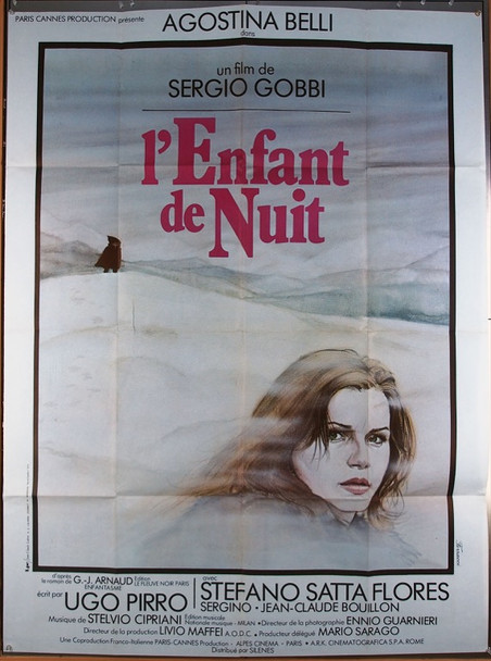L'ENFANT DE NUIT (1978) 26290 Silenes Distribution Original French Grande Poster  47x63  Folded  Very Good Plus Condition
