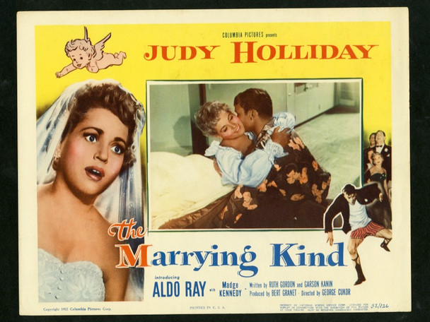 MARRYING KIND, THE (1952) 5473 Original Columbia Pictures Scene Lobby Card (11x14).  Very Fine Condition