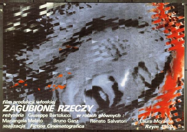 OGGETTI SMARRITI  (1980) 22113 Original Polish Poster (27x38).  Unfolded.  Very Fine.