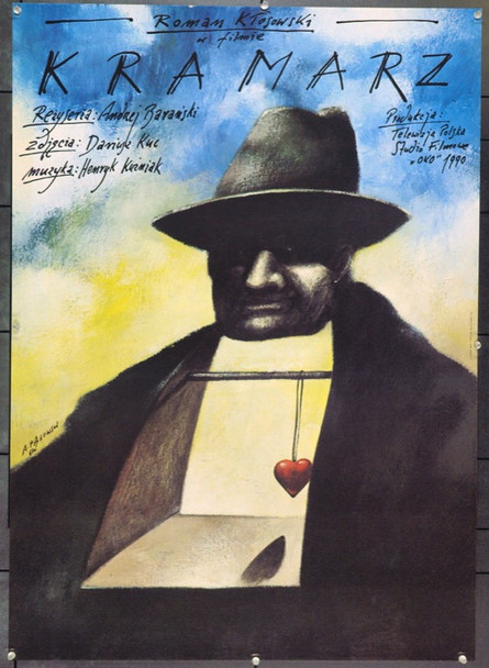 PEDDLER, THE (1990) 22209 Original Polish Poster (27x37).  Pagowski Artwork.  Unfolded.  Very Fine.