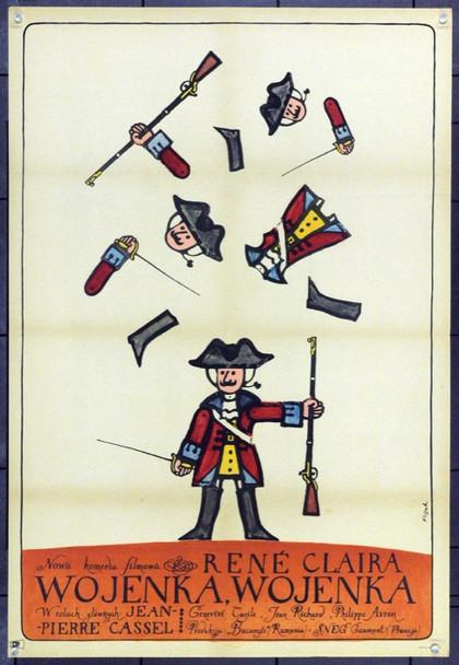FETES GALANTES, LES (1965) 22102 Gaumont Distributors Polish Original Poster  (23x34) Very Fine Condition