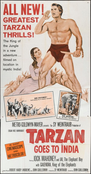 TARZAN GOES TO INDIA (1962) 9766
