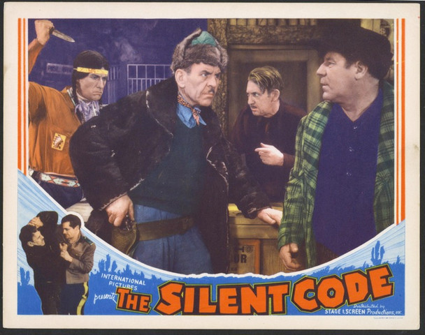 SILENT CODE, THE (1935) 25691 Original Stage And Screen Productions Scene Lobby Card (11x14) Very Fine Condition