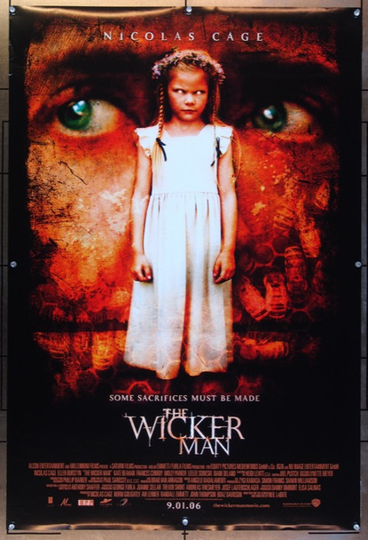 WICKER MAN, THE (2006) 20663 Original Warner Brothers One Sheet Poster (27x41).  Double-Sided.  Rolled.  Very Fine.
