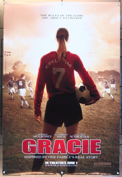GRACIE (2007) 20673 Original Picturehouse Advance One Sheet Poster (27x41).  Double-Sided.  Rolled.  Very Fine.