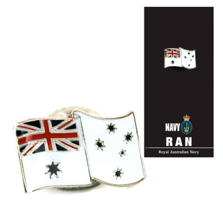 Ensign Lapel Pin On Card