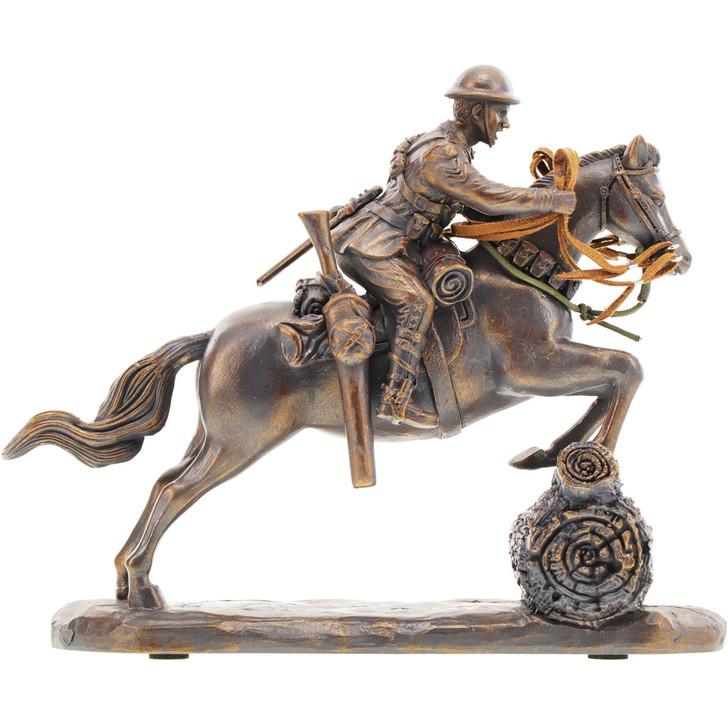 Leap of Faith Light Horse Miniature Figurine