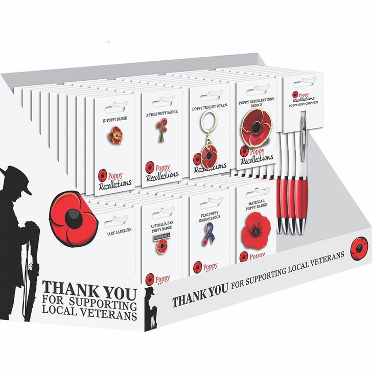 Veterans Support Merchandise & Display Stand