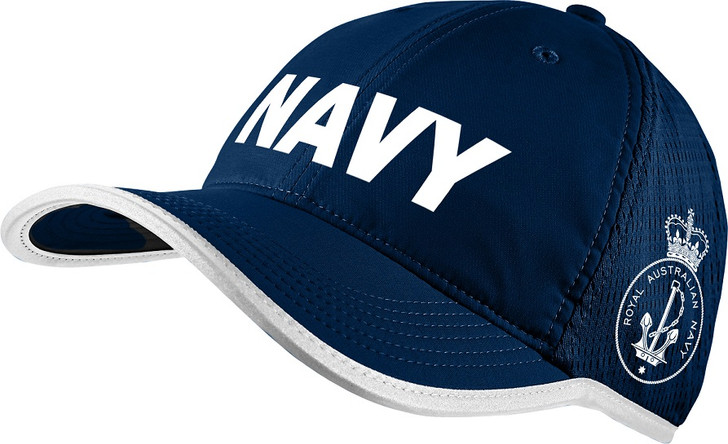 Navy Sports Cap Navy/White