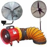 Industrial Fans & Fume Extractors