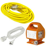 Extension Leads & RCD Boxes