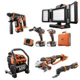 AEG 18 Volt Cordless Tools