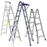 Dual Purpose Extendable Stepladders