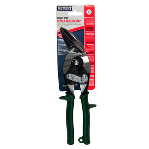 Midwest Aviation Snips Offset Right Cut - MWT-6510R