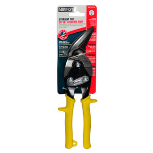 Midwest Aviation Snips Offset Straight Cut - MWT-6510S