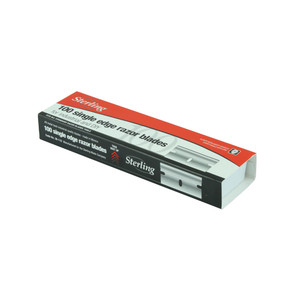 Sterling Single Edge Replacement Blades - 100 Pack - 30-112