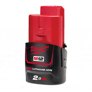 Milwaukee M12 2.0Ah REDLITHIUM-ION Compact Battery Pack - M12B2