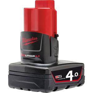 Milwaukee M12 4.0Ah REDLITHIUM-ION Battery Pack - M12B4