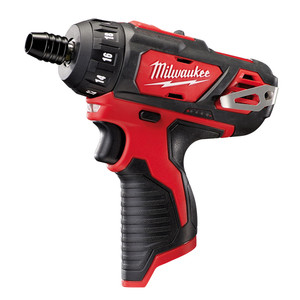 """Milwaukee 12V 1/4"""" Hex 2-Speed Sub-Compact Screwdriver 'Skin' - Tool Only - M12BD-0"""