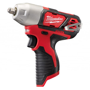 """Milwaukee 12V 3/8"""" Square Drive Impact Wrench 'Skin' - Tool Only - M12BIW38-0"""