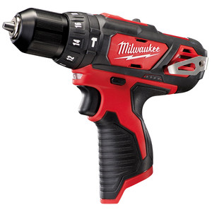 Milwaukee 12V 10mm Hammer Drill 'Skin' - Tool Only - M12BPD-0
