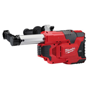 Milwaukee 12V HAMMER VAC Dust Extraction Unit 'Skin' - Tool Only in Carry Case - M12DE-0C