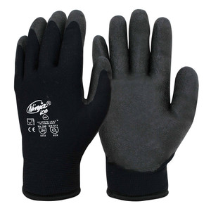 Ninja Synthetic P4004 ICE Working Gloves - Large - NIICEFRZRBK000L