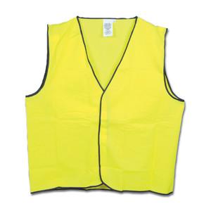 Frontier Safety Hi Vis Yellow Vest - XXLarge - FRDAYVESTYY02XL