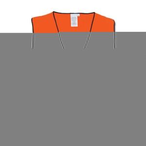Frontier Safety Hi Vis Orange Vest - XLarge - FRDAYVESTOO00XL