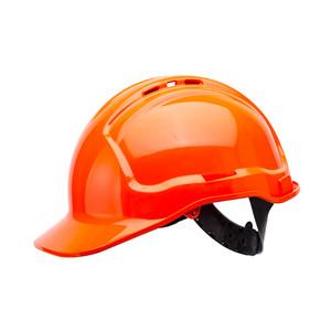 Frontier Safety Tuffgard Vented 6 Point Web Suspension Hard Hat - Orange - FRTG57VTDOO0000