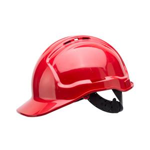 Frontier Safety Tuffgard Vented 6 Point Web Suspension Hard Hat - Red - FRTG57VTDRR0000