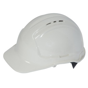Frontier Safety Tuffgard Vented 6 Point Web Suspension Hard Hat - White - FRTG57VTDWW0000