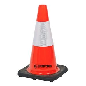 Frontier Safety 450mm Reflective Traffic Cone - FRCONERFLFL0450