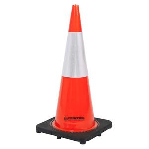 Frontier Safety 700mm Reflective Traffic Cone - FRCONERFLFL0700