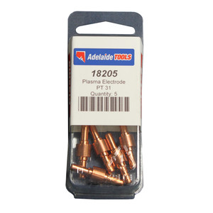 Torchmaster Plasma Electrode Zr to Suit Esab/Ltec PT 31 Pack of 5 - 18205L