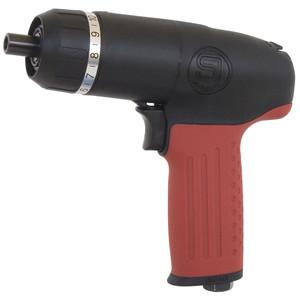 "Shinano 1/4"" Drive Pneumatic Pistol Grip Adjustable Clutch Screw Driver - SI-1170"
