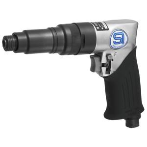 "Shinano 1/4"" Drive Pneumatic Pistol Grip Adjustable Clutch Screw Driver - High Torque - SI-1166A-8A"